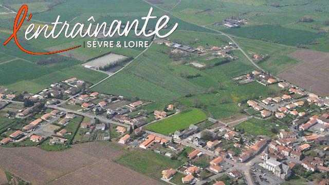 Vue aérienne de la Remaudière